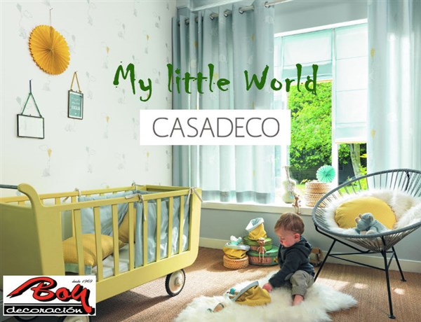 Colección MY LITTLE WORLD de CASADECO / CASELIO