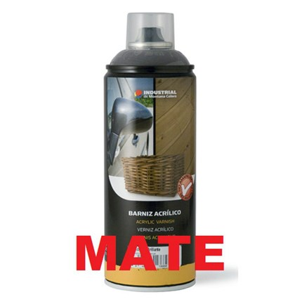 BARNIZ ACRILICO EN SPRAY MATE 400ML
