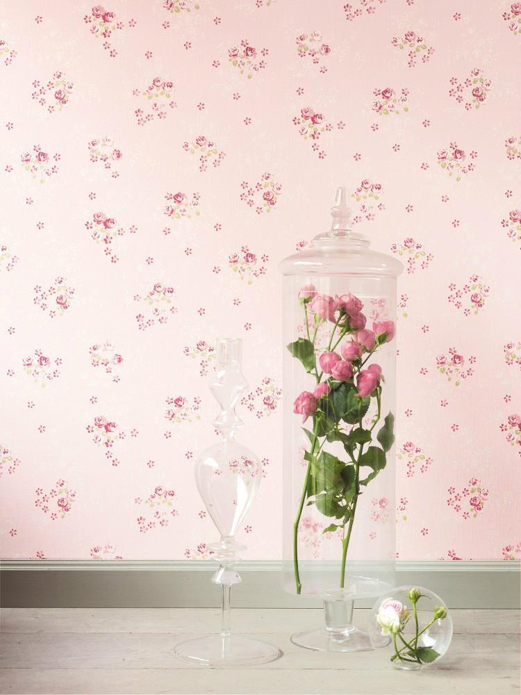 Papel pintado lily rose - Papel pintado colores ...