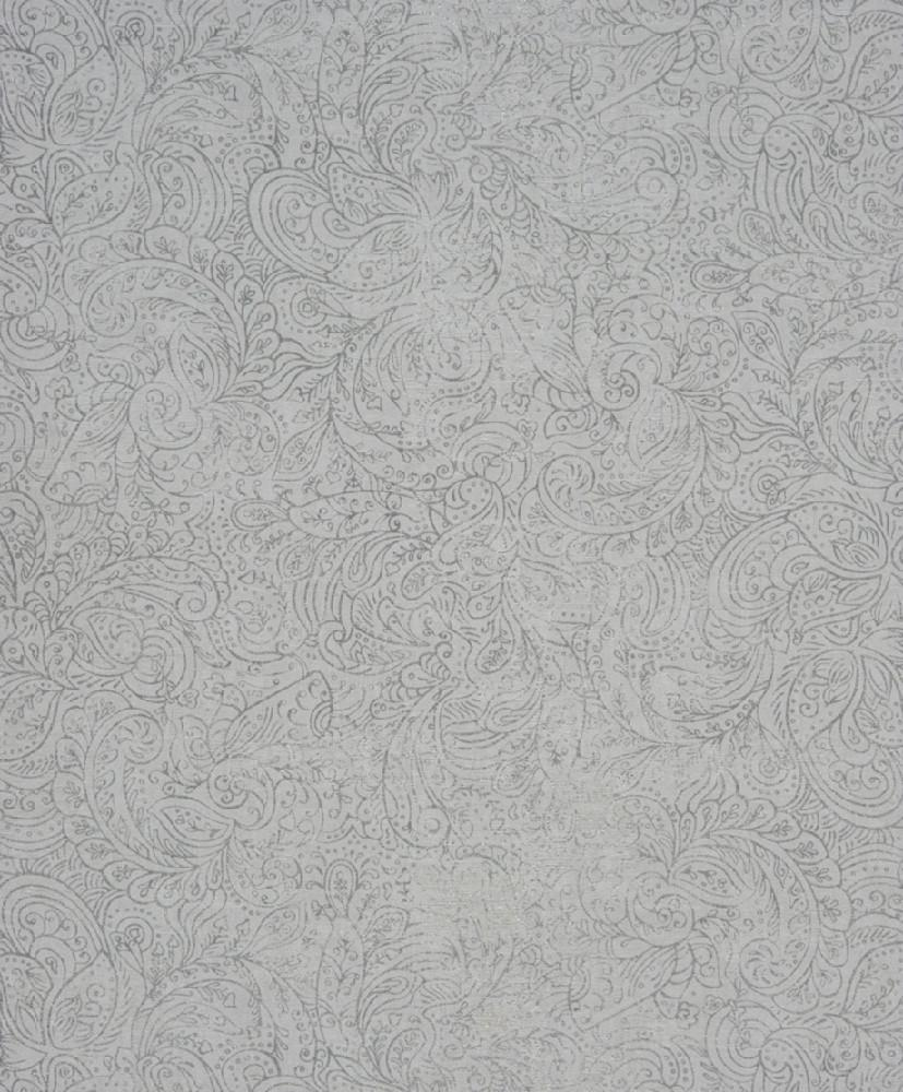 Papel pintado colecci n majestic for Papel pintado color plata