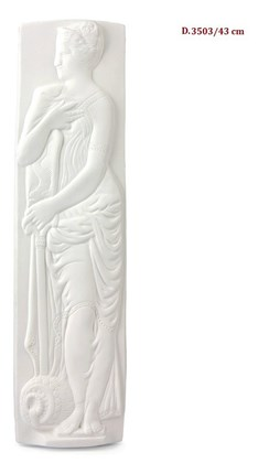 Relieve D de escayola 43 cm